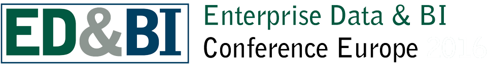 Enterprise Data and BI Conference Europe 2017
