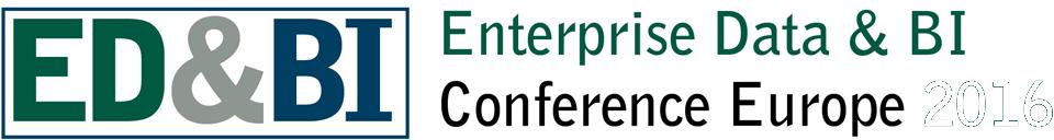 Enterprise Data and BI Conference Europe 2017