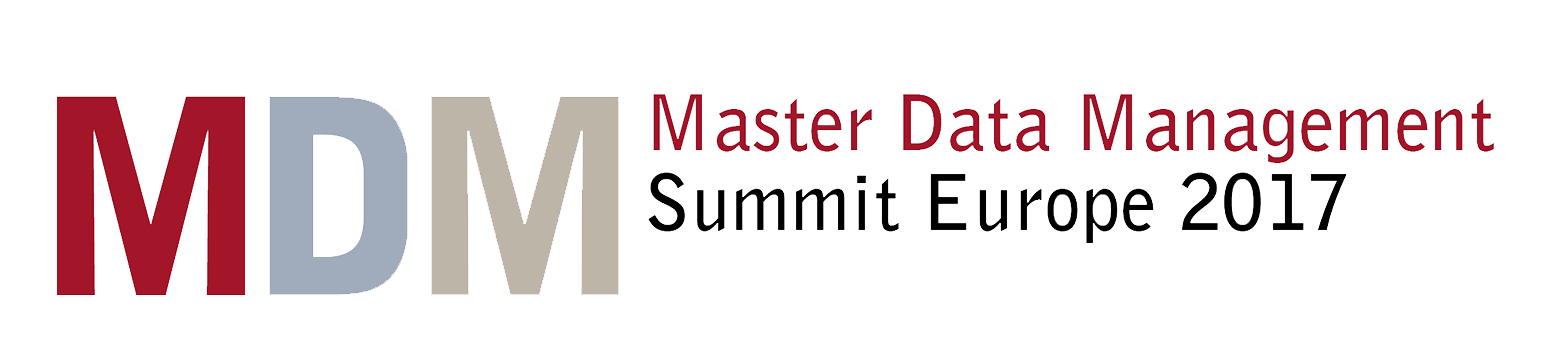 Master Data Management Summit Europe - 2017