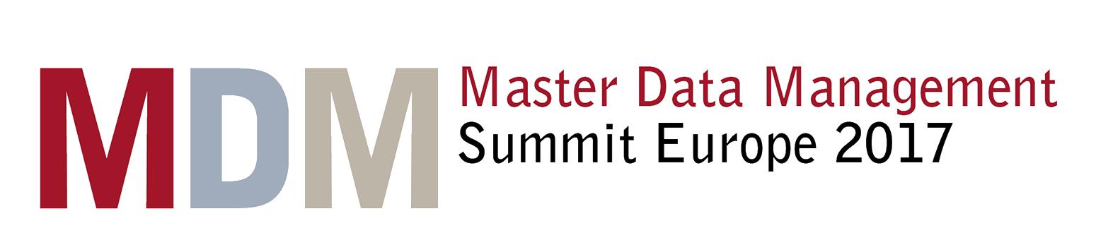 Master Data Management Summit Europe - 2017